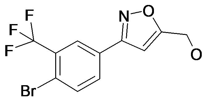 [3-(4-Bromo-3-trifluoromethyl-phenyl)-isoxazol-5-yl]-methanol