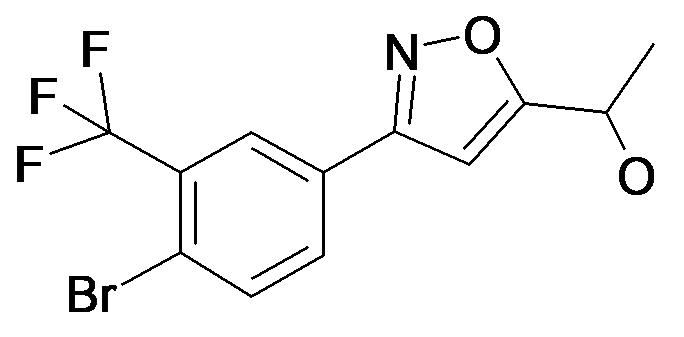 1-[3-(4-Bromo-3-trifluoromethyl-phenyl)-isoxazol-5-yl]-ethanol