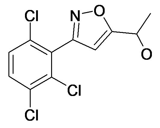 1-[3-(2,3,6-Trichloro-phenyl)-isoxazol-5-yl]-ethanol