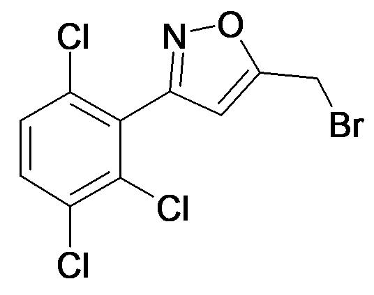 5-Bromomethyl-3-(2,3,6-trichloro-phenyl)-isoxazole
