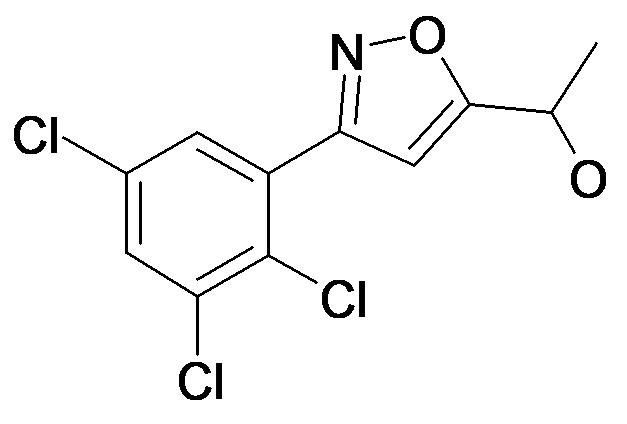 1-[3-(2,3,5-Trichloro-phenyl)-isoxazol-5-yl]-ethanol