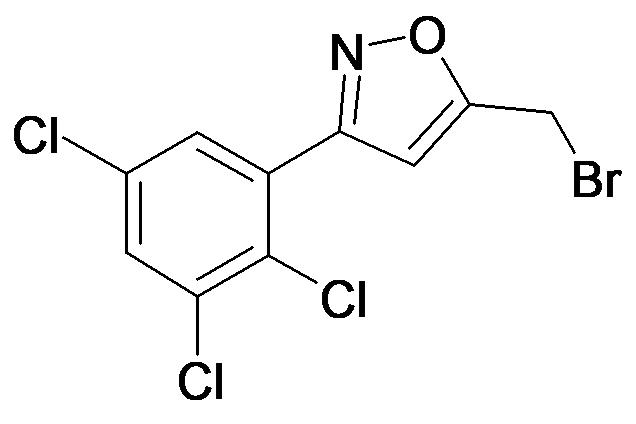 5-Bromomethyl-3-(2,3,5-trichloro-phenyl)-isoxazole