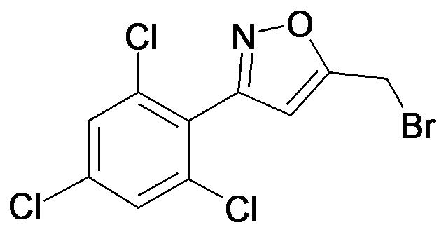 5-Bromomethyl-3-(2,4,6-trichloro-phenyl)-isoxazole