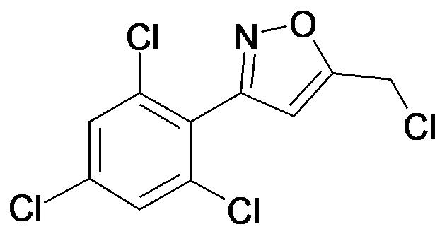 5-Chloromethyl-3-(2,4,6-trichloro-phenyl)-isoxazole