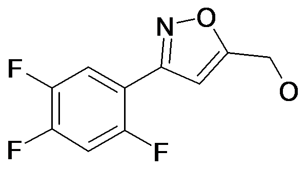 [3-(2,4,5-Trifluoro-phenyl)-isoxazol-5-yl]-methanol
