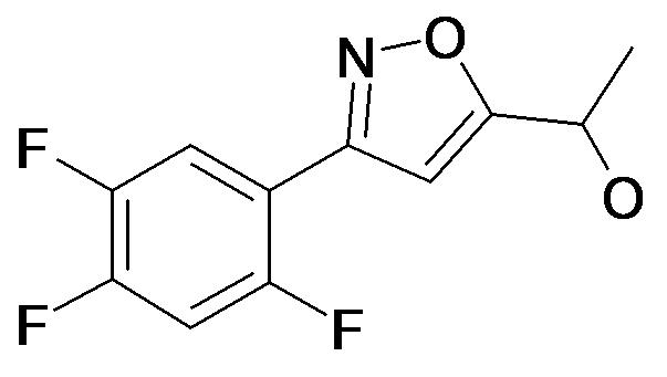 1-[3-(2,4,5-Trifluoro-phenyl)-isoxazol-5-yl]-ethanol