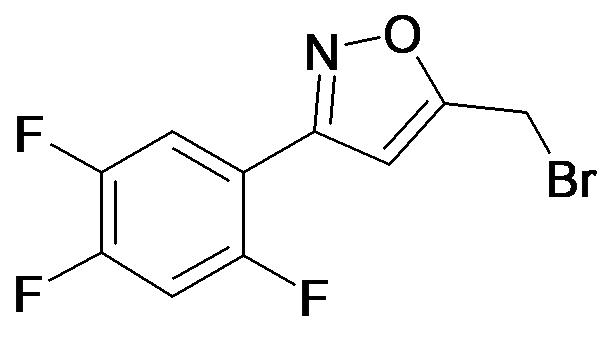 5-Bromomethyl-3-(2,4,5-trifluoro-phenyl)-isoxazole