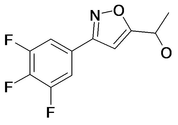 1-[3-(3,4,5-Trifluoro-phenyl)-isoxazol-5-yl]-ethanol