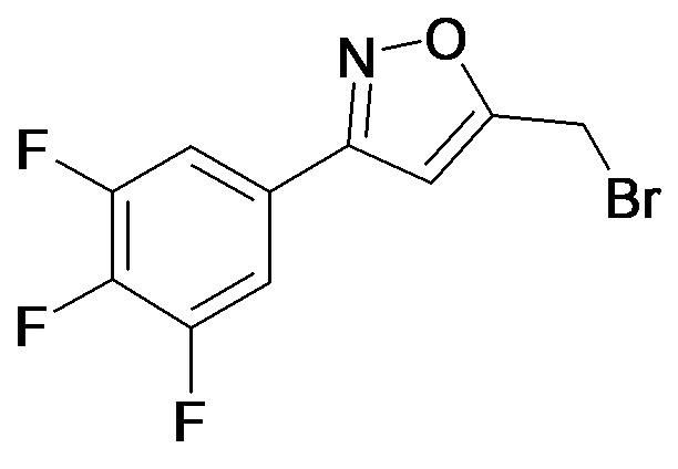 5-Bromomethyl-3-(3,4,5-trifluoro-phenyl)-isoxazole