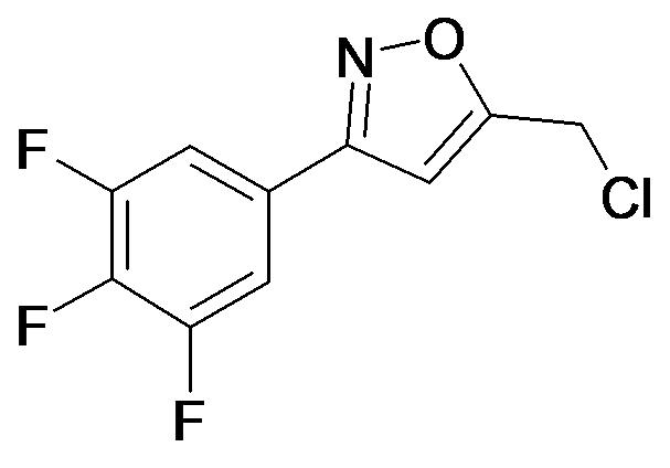 5-Chloromethyl-3-(3,4,5-trifluoro-phenyl)-isoxazole