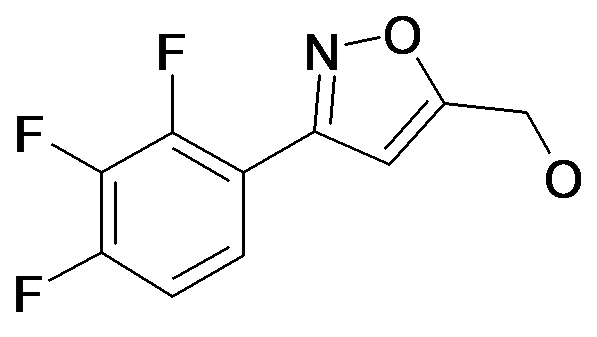 [3-(2,3,4-Trifluoro-phenyl)-isoxazol-5-yl]-methanol