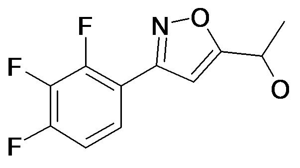 1-[3-(2,3,4-Trifluoro-phenyl)-isoxazol-5-yl]-ethanol