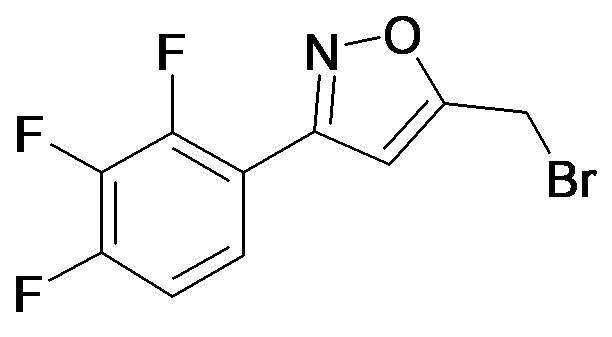 5-Bromomethyl-3-(2,3,4-trifluoro-phenyl)-isoxazole