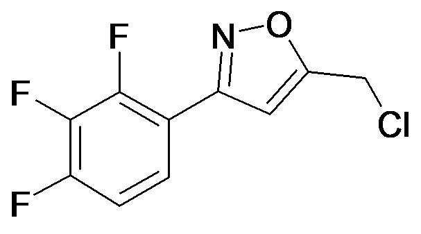 5-Chloromethyl-3-(2,3,4-trifluoro-phenyl)-isoxazole