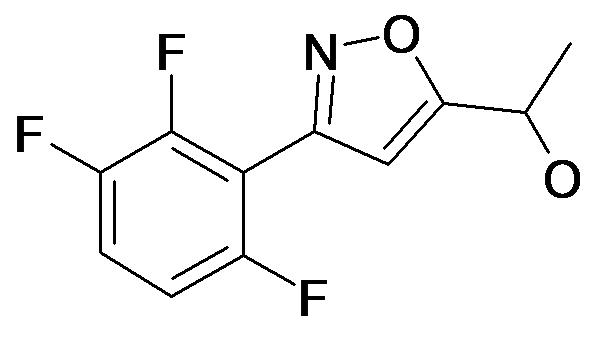 1-[3-(2,3,6-Trifluoro-phenyl)-isoxazol-5-yl]-ethanol