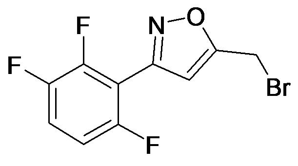 5-Bromomethyl-3-(2,3,6-trifluoro-phenyl)-isoxazole
