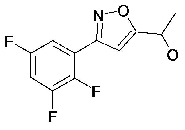 1-[3-(2,3,5-Trifluoro-phenyl)-isoxazol-5-yl]-ethanol