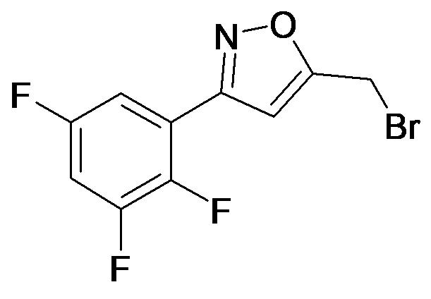 5-Bromomethyl-3-(2,3,5-trifluoro-phenyl)-isoxazole