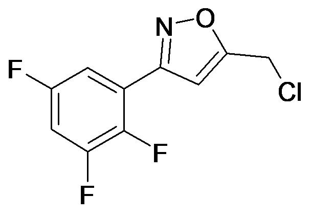 5-Chloromethyl-3-(2,3,5-trifluoro-phenyl)-isoxazole