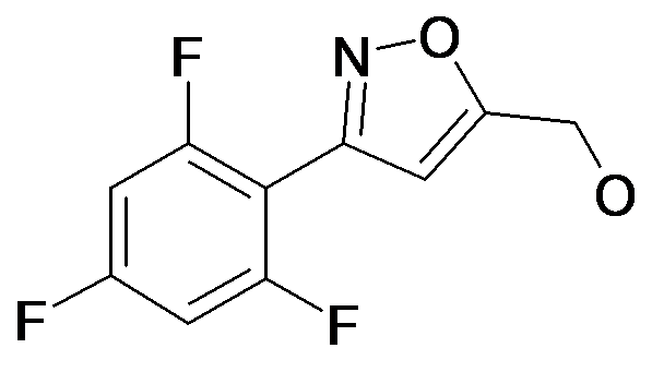 [3-(2,4,6-Trifluoro-phenyl)-isoxazol-5-yl]-methanol