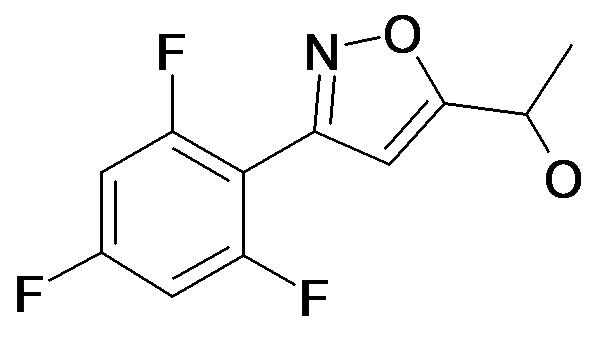 1-[3-(2,4,6-Trifluoro-phenyl)-isoxazol-5-yl]-ethanol