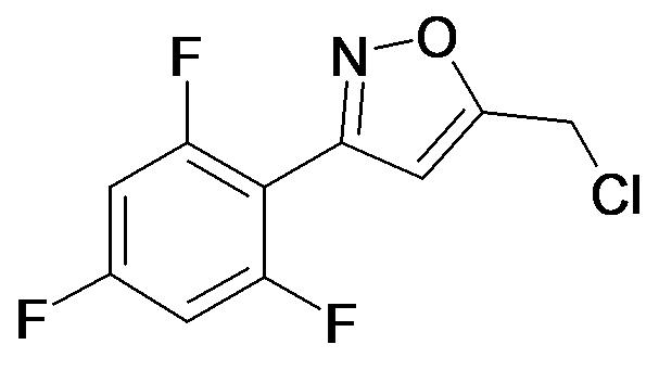 5-Chloromethyl-3-(2,4,6-trifluoro-phenyl)-isoxazole