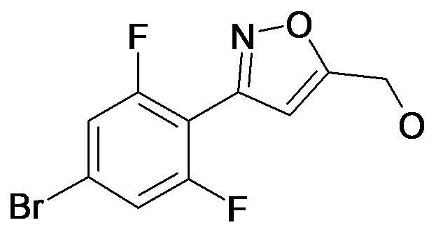 [3-(4-Bromo-2,6-difluoro-phenyl)-isoxazol-5-yl]-methanol
