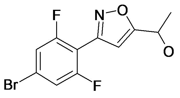 1-[3-(4-Bromo-2,6-difluoro-phenyl)-isoxazol-5-yl]-ethanol