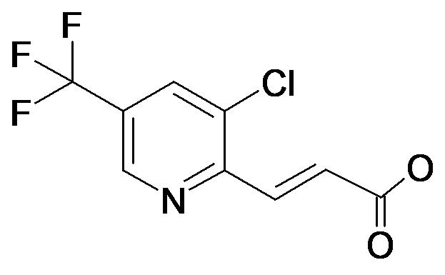 (E)-3-(3-Chloro-5-trifluoromethyl-pyridin-2-yl)-acrylic acid