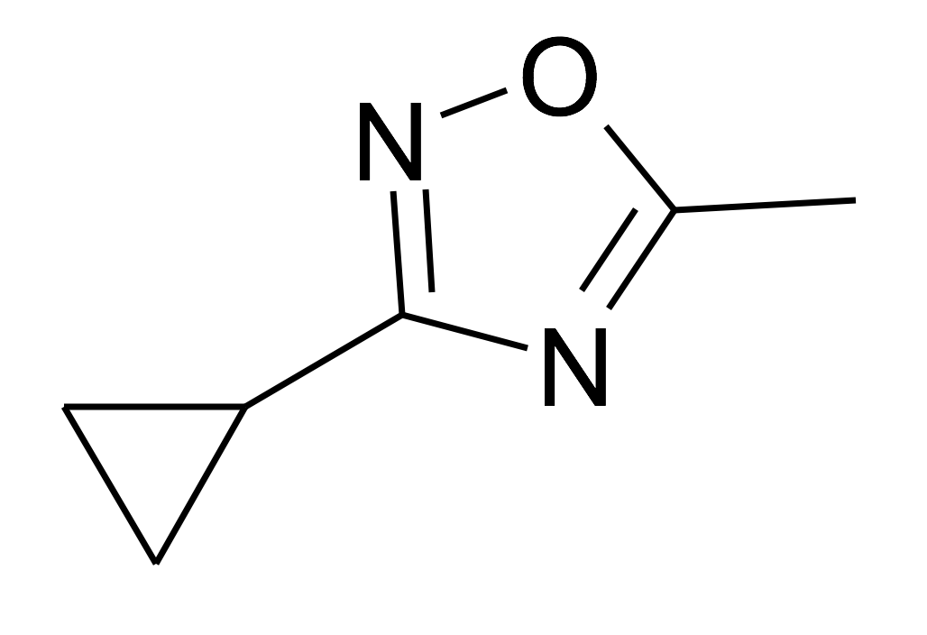 3-Cyclopropyl-5-methyl-[1,2,4]oxadiazole