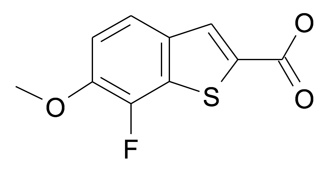 7-Fluoro-6-methoxy-benzo[b]thiophene-2-carboxylic acid