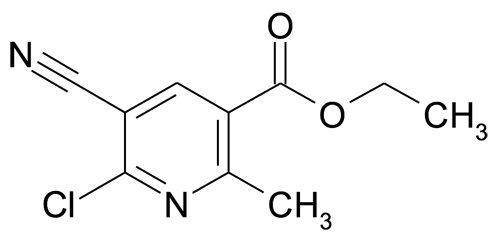 Ethyl 6-chloro-5-cyano-2-methylnicotinate
