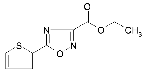 Ethyl 5-thiophen-2-yl-[1,2,4]oxadiazole-3-carboxylate