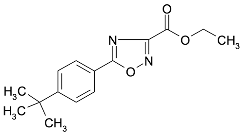 Ethyl 5-(4-tert-butylphenyl)-[1,2,4]oxadiazole-3-carboxylate