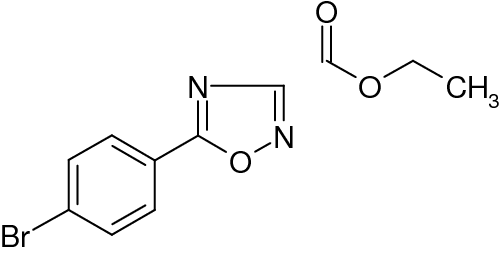 Ethyl 5-(4-bromophenyl)-[1,2,4]oxadiazole-3-carboxylate