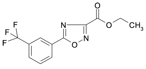 Ethyl 5-(3-(trifluoromethyl)phenyl)-[1,2,4]oxadiazole-3-carboxylate