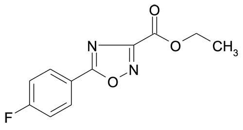 Ethyl 5-(4-fluorophenyl)-[1,2,4]oxadiazole-3-carboxylate