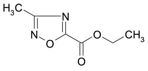 3-Methyl-[1,2,4]oxadiazole-5-carboxylic acid ethyl ester
