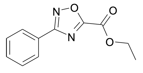 Ethyl 3-phenyl-[1,2,4]oxadiazole-5-carboxylate