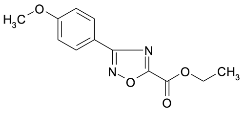 Ethyl 3-(4-methoxyphenyl)-[1,2,4]oxadiazole-5-carboxylate
