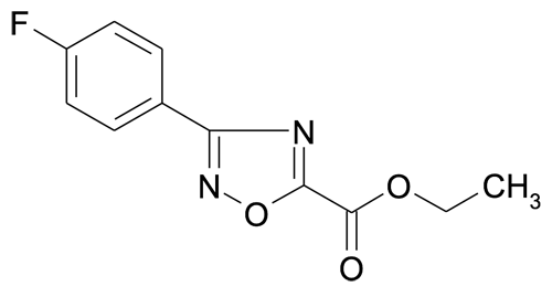 Ethyl 3-(4-fluorophenyl)-[1,2,4]oxadiazole-5-carboxylate