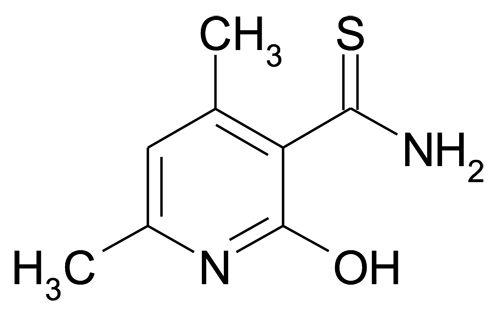 2-Hydroxy-4,6-dimethyl-thionicotinamide
