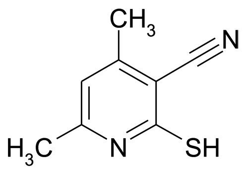 2-Mercapto-4,6-dimethylnicotinonitrile