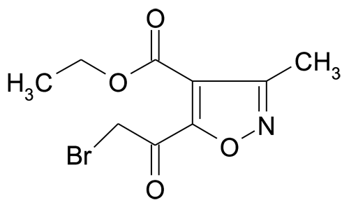Ethyl 5-(2-bromoacetyl)-3-methylisoxazole-4-carboxylate