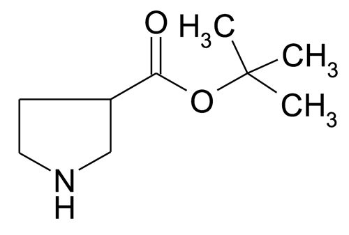 tert-Butyl pyrrolidine-3-carboxylate