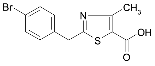 2-(4-Bromobenzyl)-4-methylthiazole-5-carboxylic acid