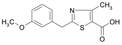 2-(3-Methoxybenzyl)-4-methylthiazole-5-carboxylic acid