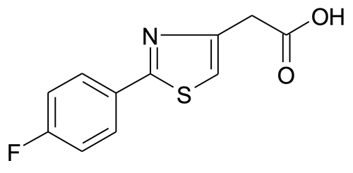 [2-(4-Fluorophenyl)thiazol-4-yl]acetic acid