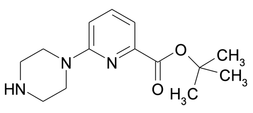 tert-Butyl 6-piperazin-1-ypyridine-2-carboxylate