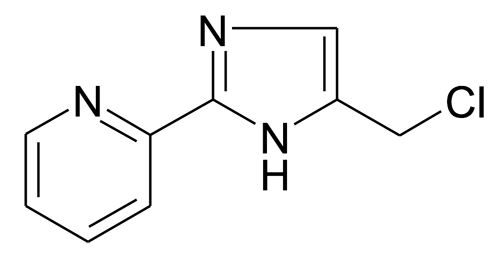 2-(5-Chloromethyl-1H-imidazol-2-yl)pyridine